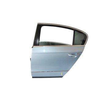 VW Passat 3C B6 Limousine Tür Türe hinten links Fahrerseite LB5M Blaumet. Rost