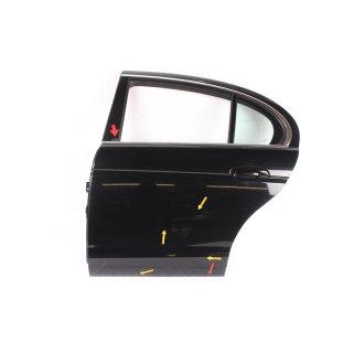 Jaguar S-Type 2006 Tür Türe hinten links Fahrerseite schwarz