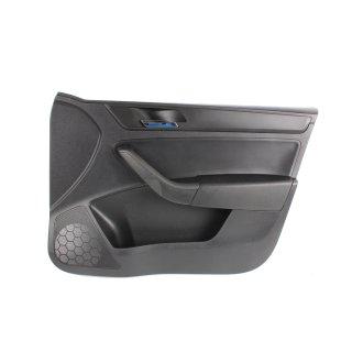 Seat Toledo IV Türverkleidung vorne rechts Beifahrer Teilleder schwarz 5JB867012