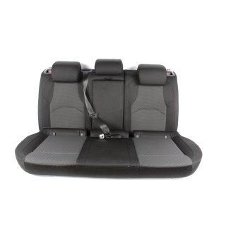 Seat Toledo IV Rücksitzbank Rückbank Durchlade Teilbar satinschwarz/schwarz