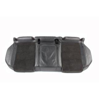 VW Golf 6 R Rücksitzbank Sitzfläche unten Alcantara/Leder schwarz/titanschwarz